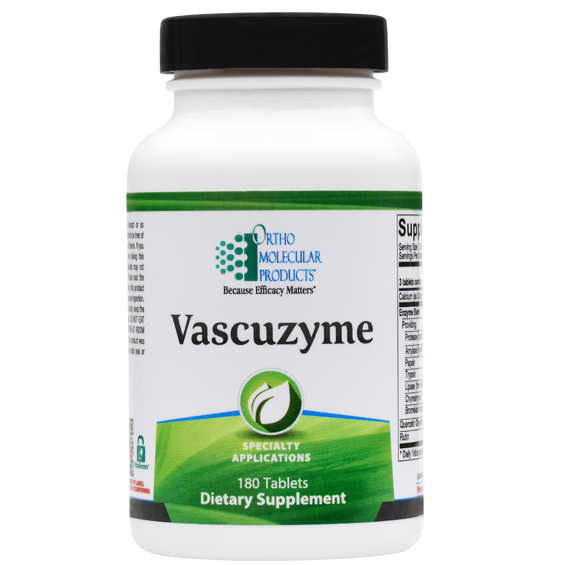 Vascuzyme By Ortho Molecular Products