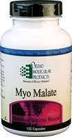 Myo Malate by Ortho Molecular Products 180 CT