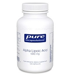 Alpha Lipoic Acid 100mg by Pure Encapsulations 60 Capsules