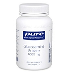 Glucosamine Sulfate 1000mg by Pure Encapsulations 60 Capsules