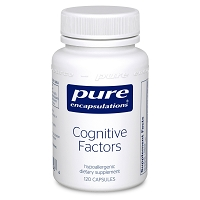 Cognitive Factors by Pure Encapsulations 120  Capsules
