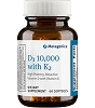 D3 10,000 with K2 by Metagenics 60 Softgels
