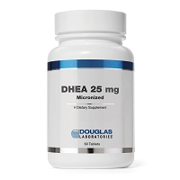 DHEA 25mg Micronized by Douglas Labs 60 or 120 Tablets