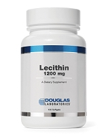 Lecithin 1200mg  by Douglas Labs 100 Soft Gels