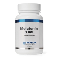 Melatonin 1mg  by Douglas Labs 60 Disolvable Tablets