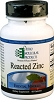 Reacted Zinc by Ortho Molecular Products 60 Capsules