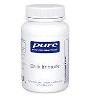 Daily Immune by Pure Encapsulations 60 or 120 Capsules