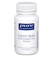 7-Keto DHEA 25mg by Pure Encapsulations 60  or 120 Capsules