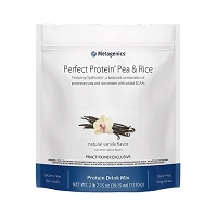 Perfect Protein Pea & Rice by Metagenics 30 Servings  Chocolate or Vanilla