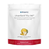 UltraInflamX  PLUS 360 by Metagenics (14 servings) Orange, Pinapple Banana, Spice, Chocolate Orange and Tropical Mango Flavor