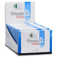 Vitamin D3 50,000 IU by Ortho Molecular Products 10-15 CT Blisters 150 CT