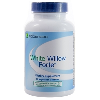 White Willow Forte by BioGenesis 30 or 120 Capsules