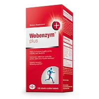 Wobenzym Plus by Douglas Labs 120, 240 or 480 Tablets