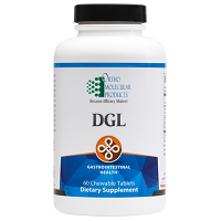 DGL by Ortho Molecular Products 60 Chewable Tablets