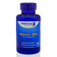 Niacin 250 Time Release by Patient One  90 capsules