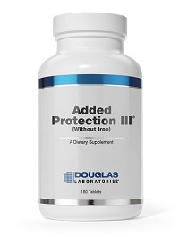 Added Protection III  by Douglas Labs 180 Tablets