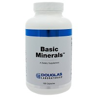 Basic Minerals  by Douglas Labs  180 Capsules
