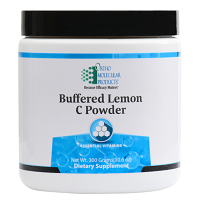 Buffered Lemon C Powder by Ortho Molecular Products 50 SVG 300g