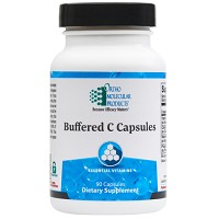 Buffered C Caps by Ortho Molecular Products 90 or 180 Capsules
