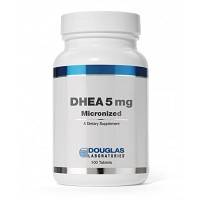 DHEA 5mg Micronized by Douglas Labs 100 Tablets