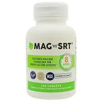 Magnesium w/SRT 500mg by Jigsaw Health 120 or 240 Tablets