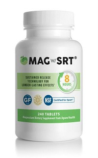 Magnesium w/SRT by Jigsaw Health 240 Tablets