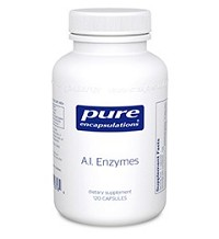 A.I. Enzymes by Pure Encapsulations 60 or 120 Capsules