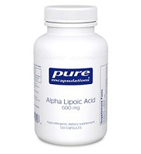 Alpha Lipoic Acid 100mg by Pure Encapsulations 120 Capsules