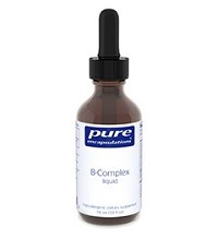 B-Complex liquid by Pure Encapsulations 3.9oz