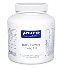 Black Currant Seed Oil  by Pure Encapsulations 100 Soft Gels