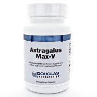 Astragalus Max-V by Douglas Labs 60 Capsules