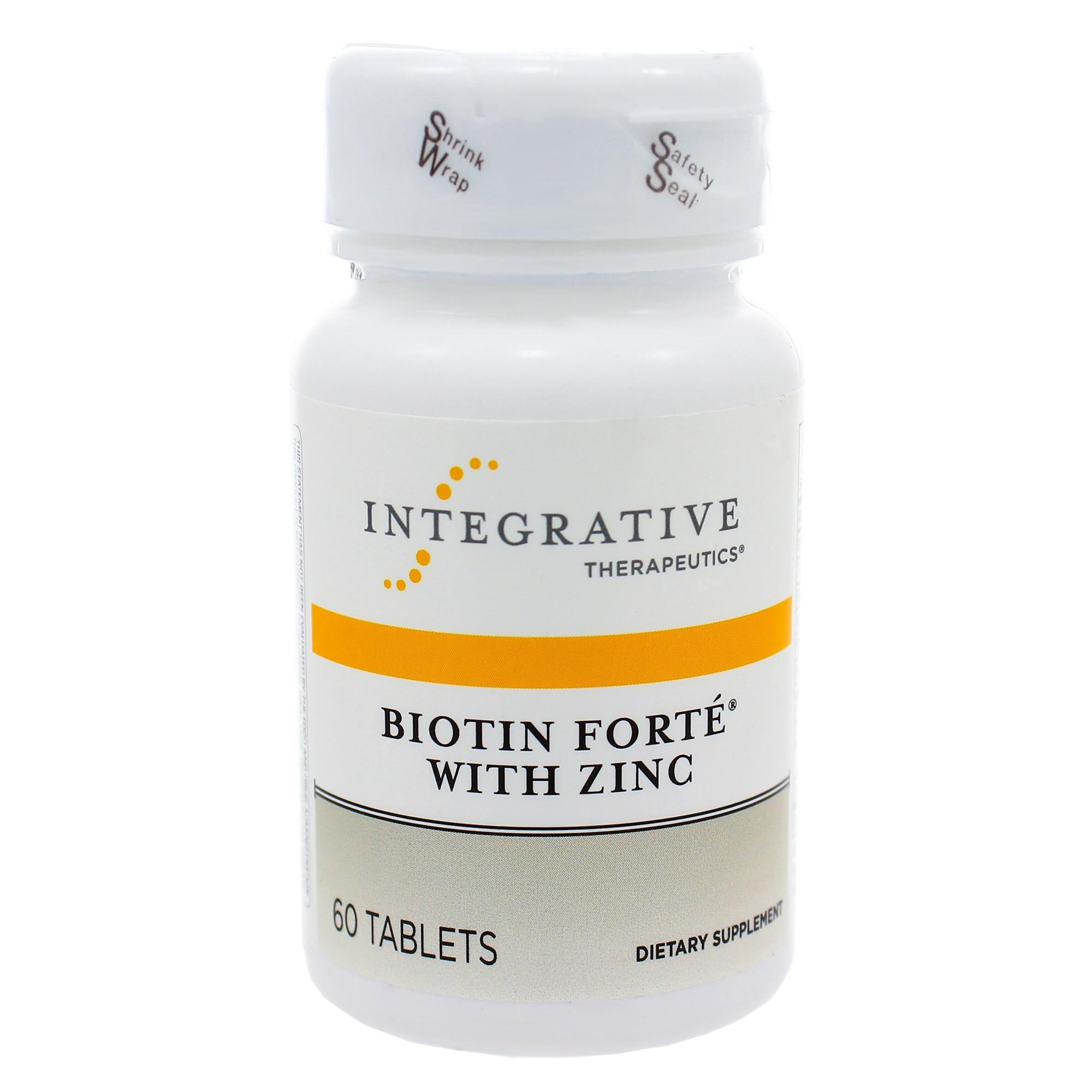 Biotin Forte w Zinc replaces Bio-Plus from Douglas Labs