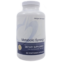 Metabolic Synergy by Designs for Health 180 or 360 Capsules