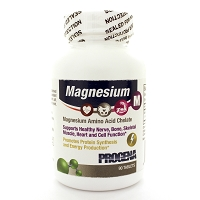Magnesium 100mg by Progena 90 Tablets