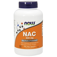 NAC 600 mg by Now Foods - 250 Capsules
