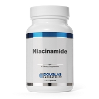 Niacinamide 500mg  by Douglas Labs 100 Capsules