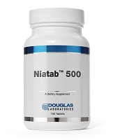 Niatab 500 mg by Douglas Labs 100 Tablets