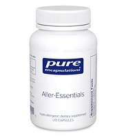 Aller-Essentials by Pure Encapsulations 60 or 120 Capsules