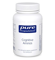 Cognitive Aminos by Pure Encapsulations 120 Capsules