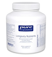 Longevity Nutrients by Pure Encapsulations 120 or 240 Capsules