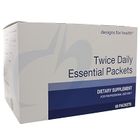 Twice Daily Essential Packets by Designs for Health 60 Packets