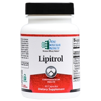 Lipitrol by Ortho Molecular Products 60 Capsules