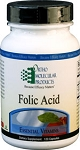 Folic Acid by Ortho Molecular Products 120 CT