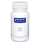 Zinc (citrate) by Pure Encapsulations  60 Capsules