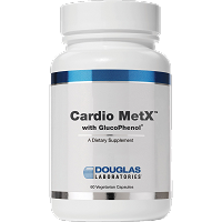 Cardio MetX with GlucoPhenol by Douglas Labs 60 vegcap