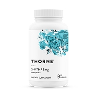 5-MTHF 1mg 60 Capsules by Thorne Research