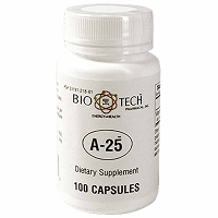 A-25 by Bio-Tech - 100 Capsules