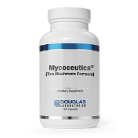 Mycoceutics Ten Mushroom Formula by Douglas Labs - 120 capsules