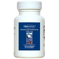 Acetyl-Glutathione 100 mg by Allergy Research Group - 60 scored tablets