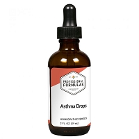 Asthma Drops by Professional Formulas - 2 oz